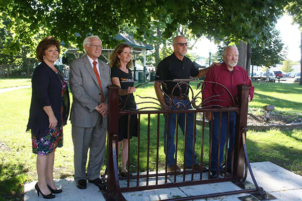 New Park in the Art Bike Rack Unveiled in Burlington