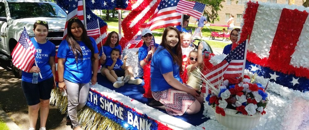 Employees and Families Come Out for Appleton Flag Day Parade