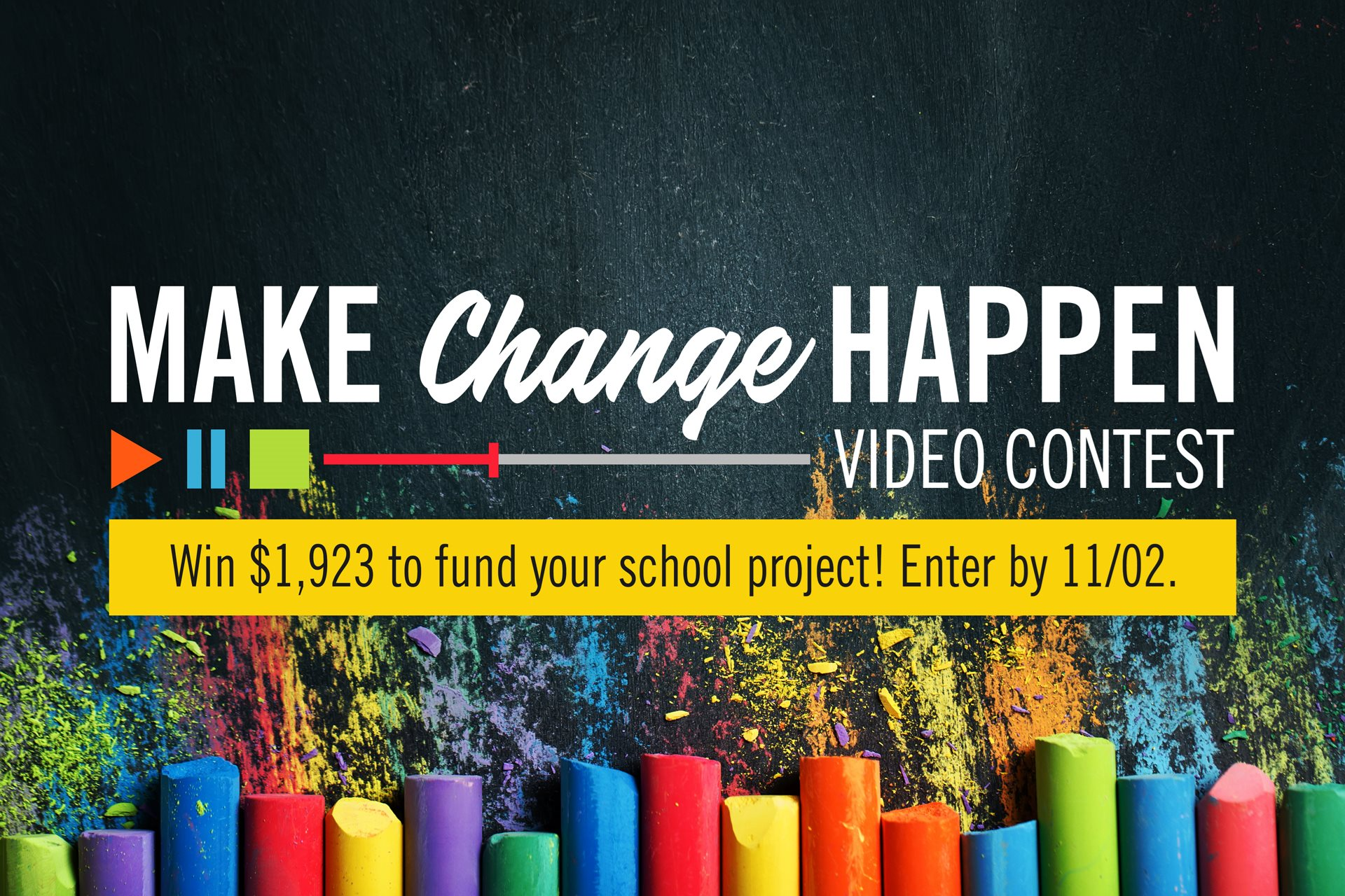 Enter Our Make Change Happen Video Contest North Shore Bank Wiring Instructions For Regions