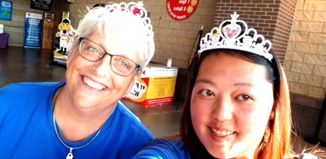 Northland Employees Have a Ball at Timber Rattlers' Princess Night