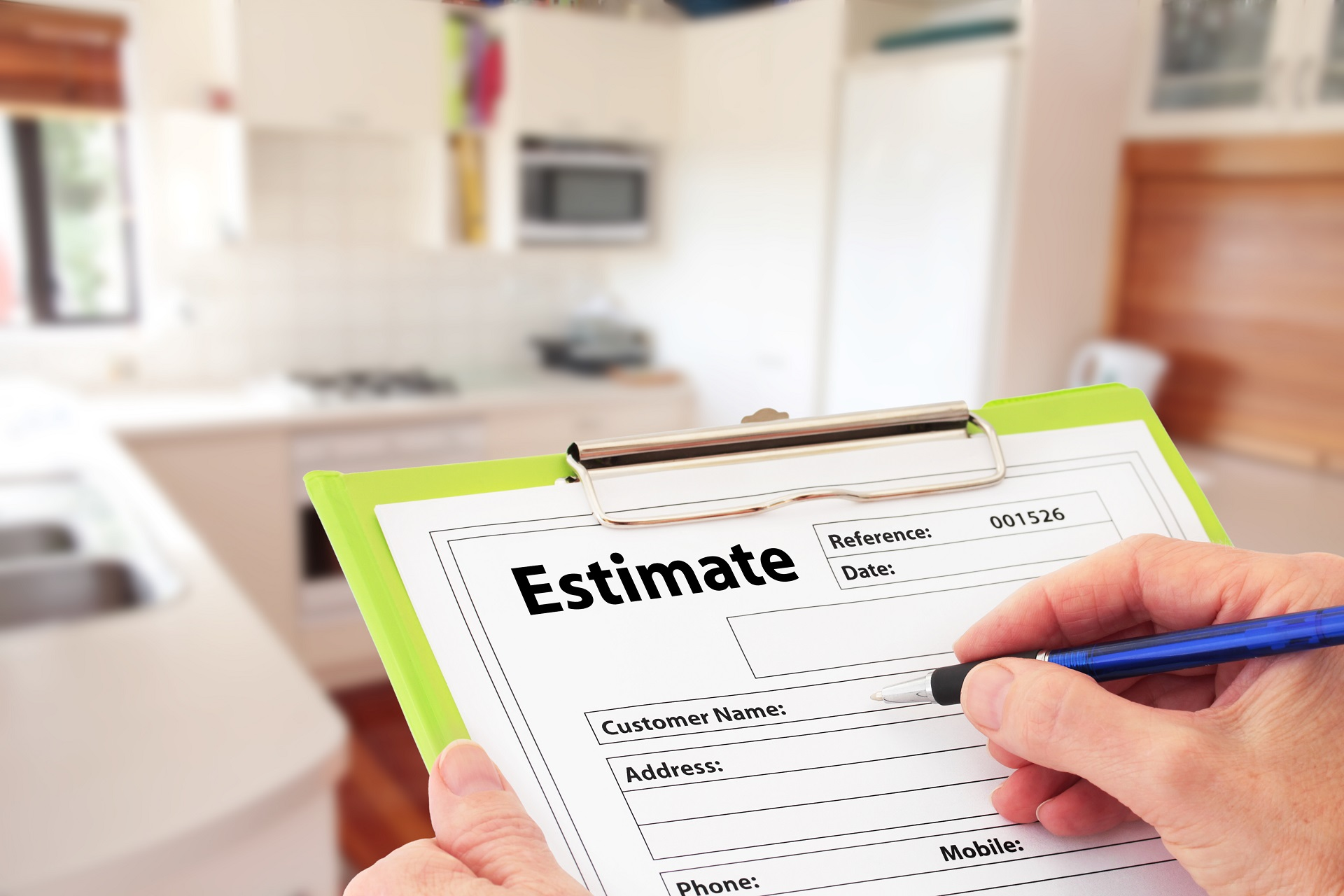 What are the benefits of a new estimate for your home?