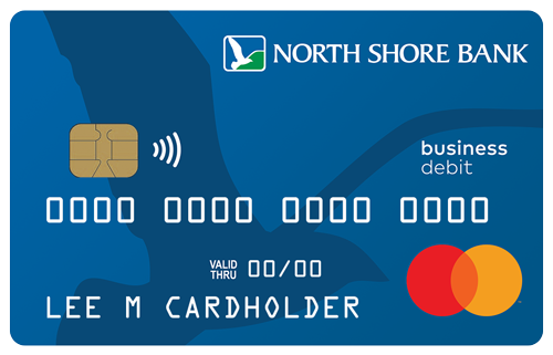 North Shore Bank Business Debit Card