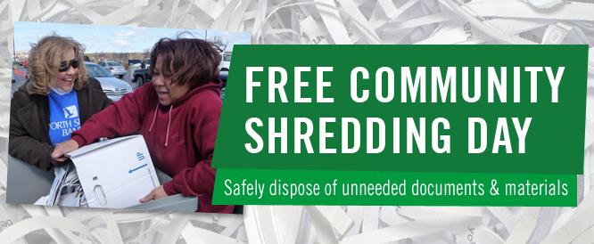 Free Community Shredding Day