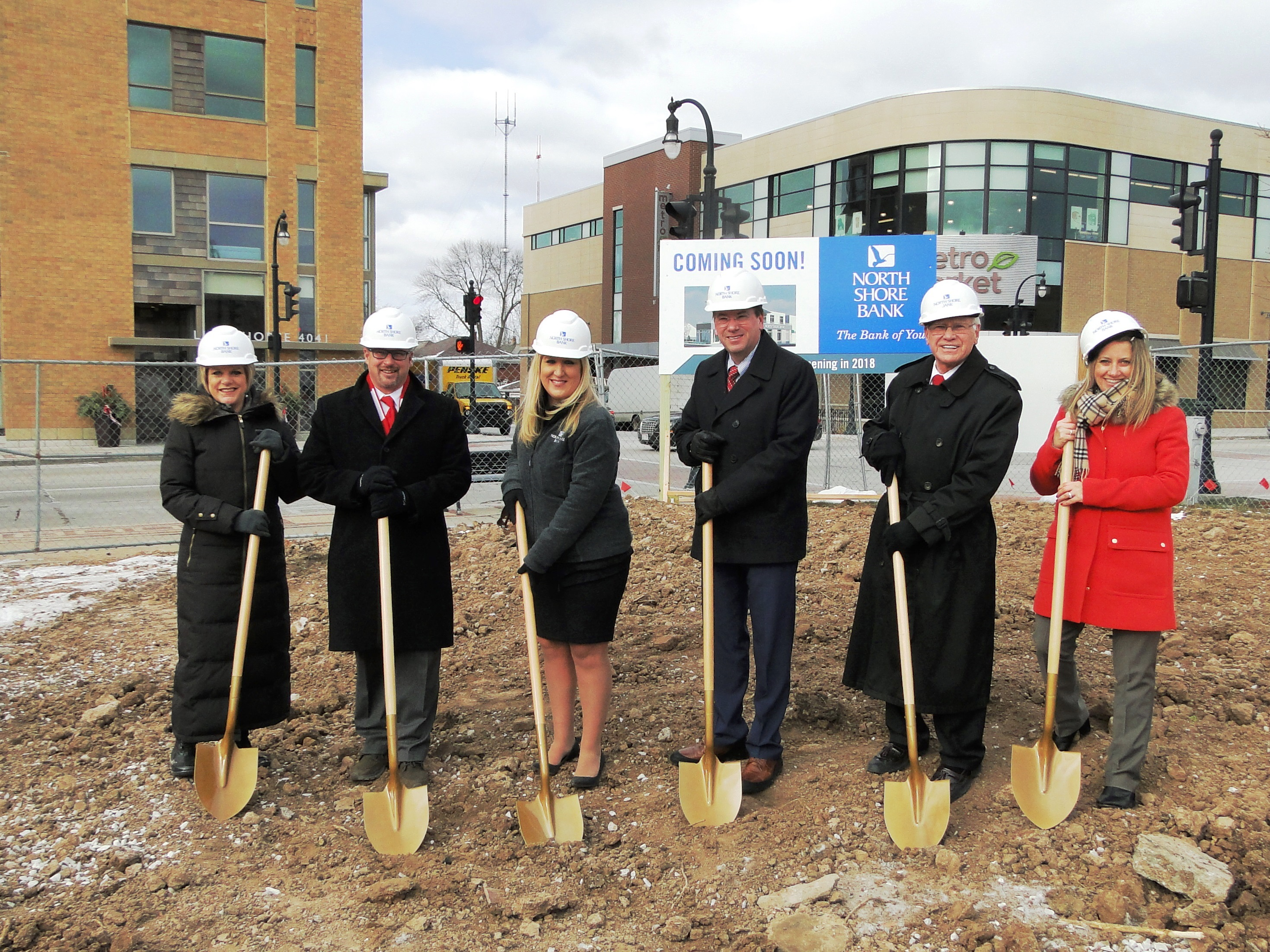 Bank Breaks Ground on New Branch in Shorewood