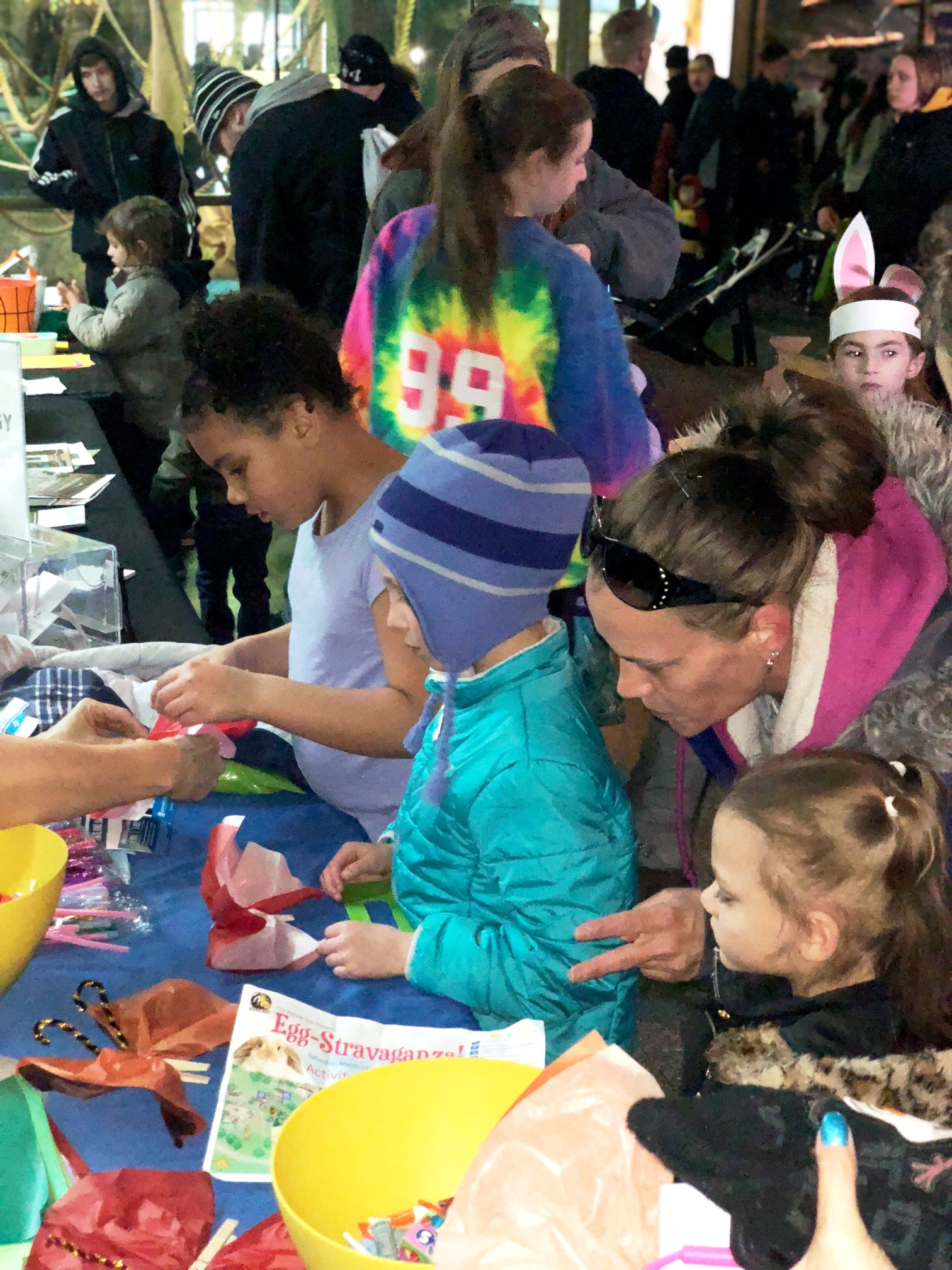 Spring Celebrated at the Racine Zoo's Easter Eggstravaganza