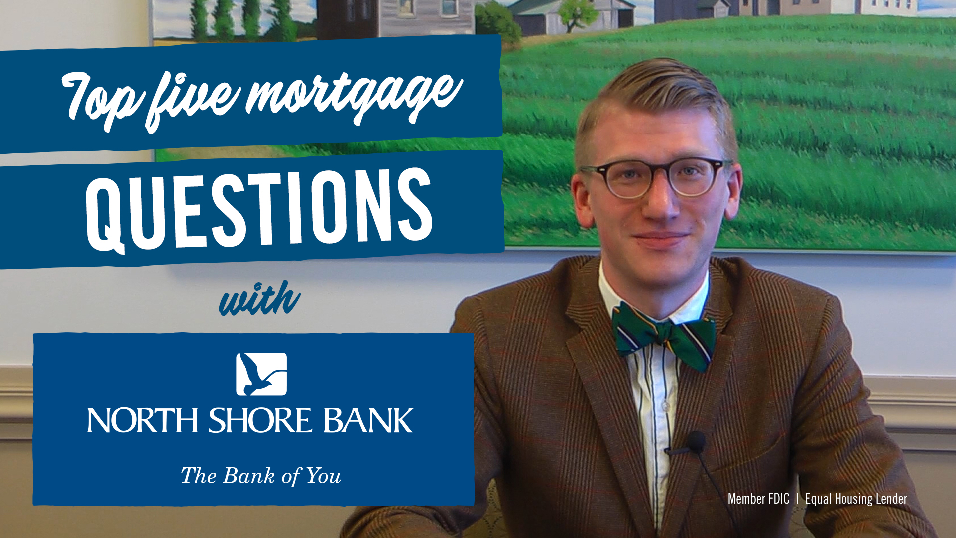 Our top five mortgage questions (and their answers).