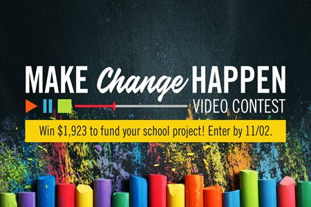 Enter our 'Make Change Happen' Video Contest