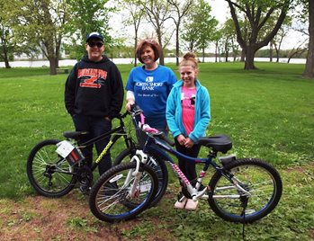 Kids Win Bikes at 2019 Fisheree in Burlington | North Shore Bank