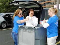 Bank Shredding Day Collects Nearly 40 Tons of Paper