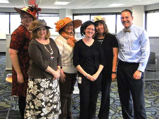 Bank Employees Raise Over $8,500 for UPAF at Derby Day Fundraiser