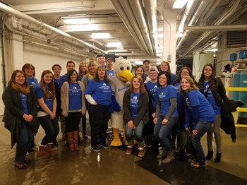 Dash for Cash with the Milwaukee Admirals
