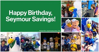 Celebrating Seymour Savings Birthday