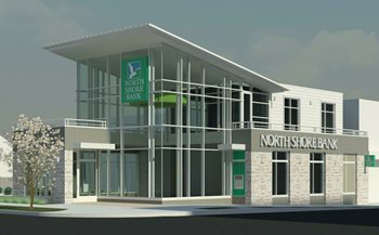 North Shore Bank's New Shorewood Office