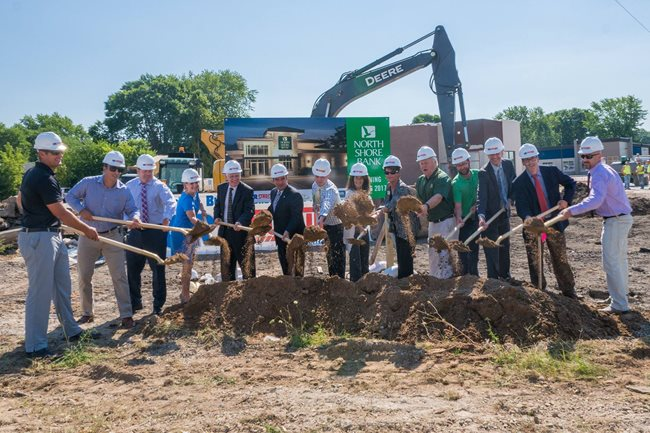 Groundbreaking Officially Begins the Construction of our New Green Bay East Office