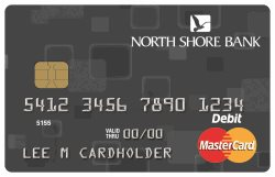 North Shore Bank Standard Debit Card