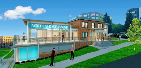 North Shore Bank Water Street Branch Rendering