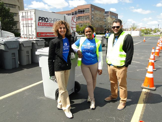 North Shore Bank's Free Community Shredding Day