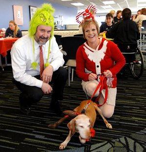 Corporate Employees Mark Winter Holidays with Seussical Celebration